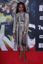 Danai Gurira - 'The Walking Dead' Premiere in West Hollywood