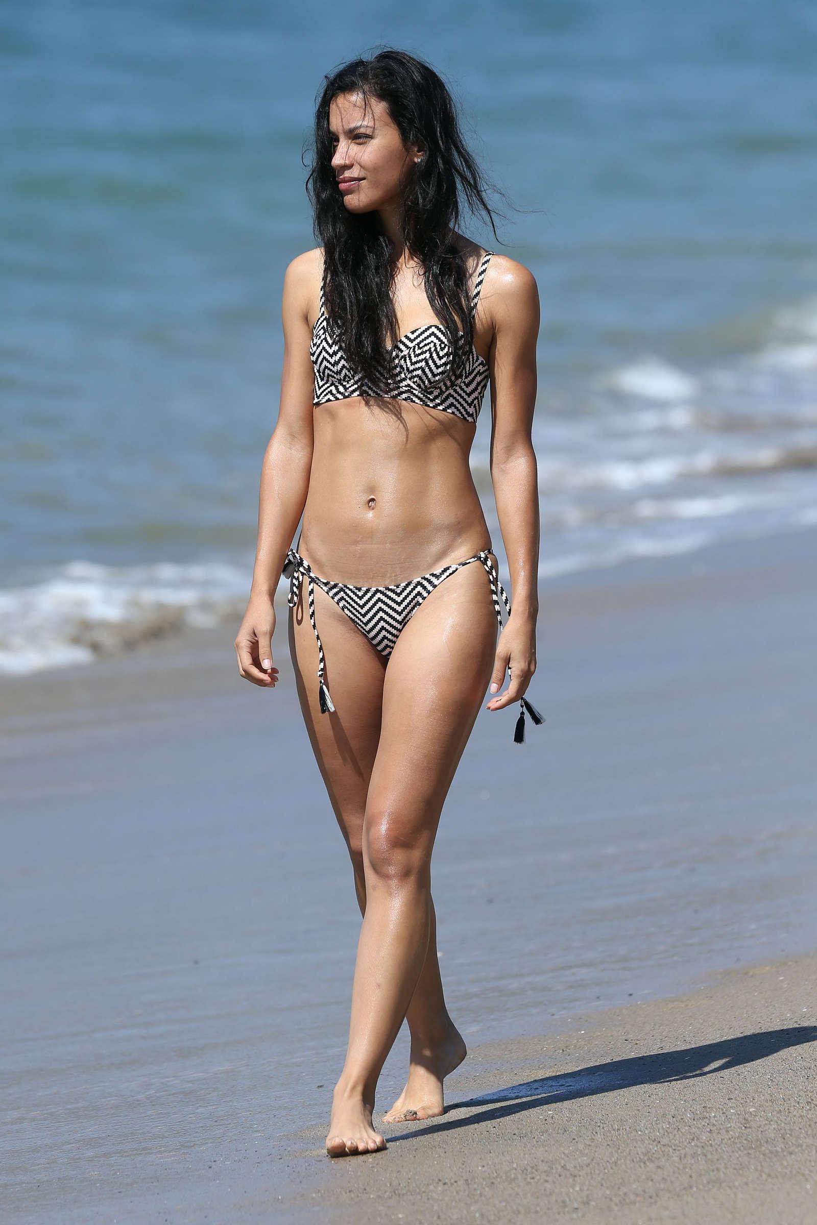 Garcia en bikini