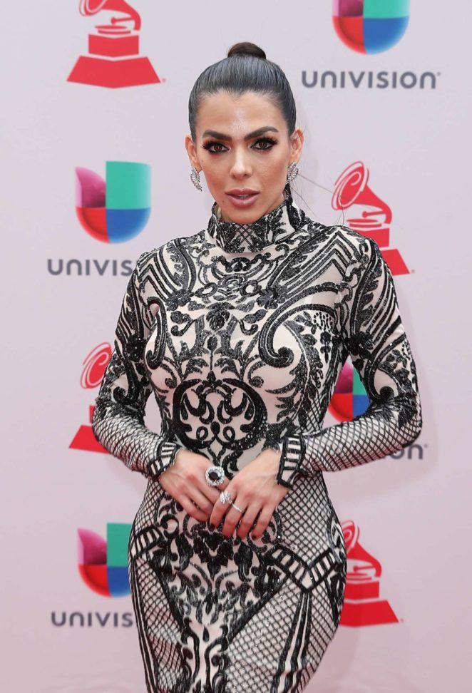 Danella Urbay - 2017 Latin Grammy Awards in Las Vegas