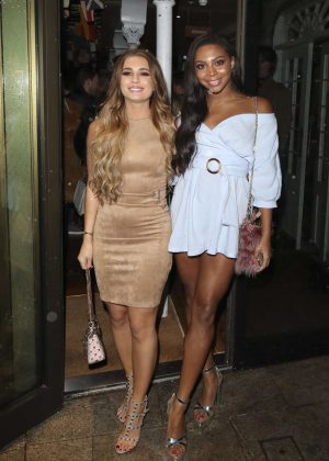 Dani Dyer and Samira Mighty - Fincham Launch Party in London