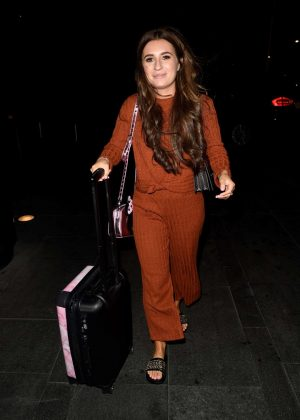 Dani Dyer - Arriving at Manchester Piccadilly Train Station