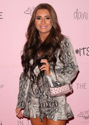Dani Dyer - 'In The Style' Collection Launch Party in London