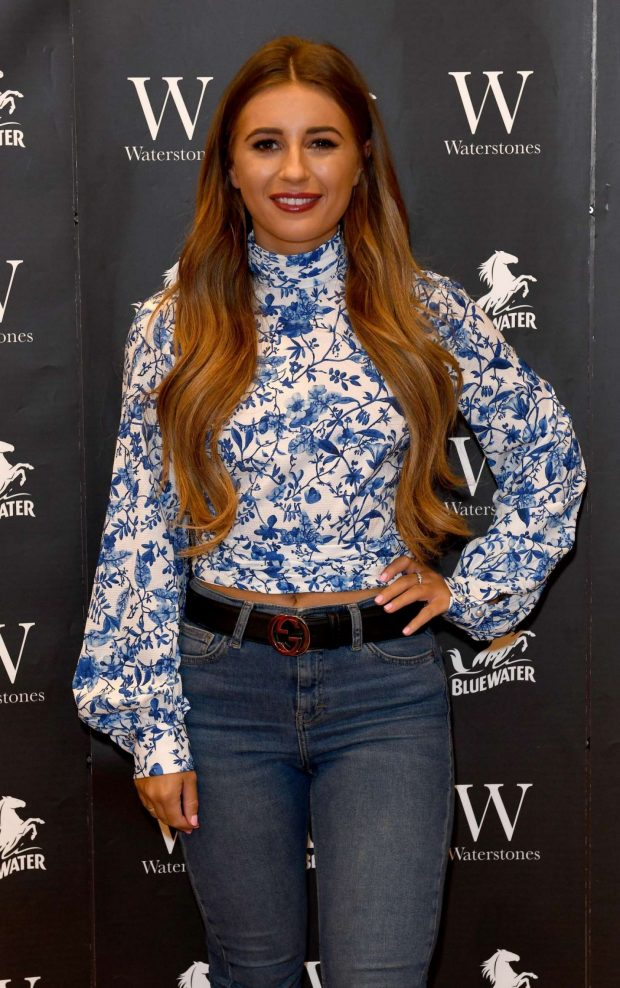 Dani Dyer - 'What Would Dani Do' Book Signing at Waterstones in Kent
