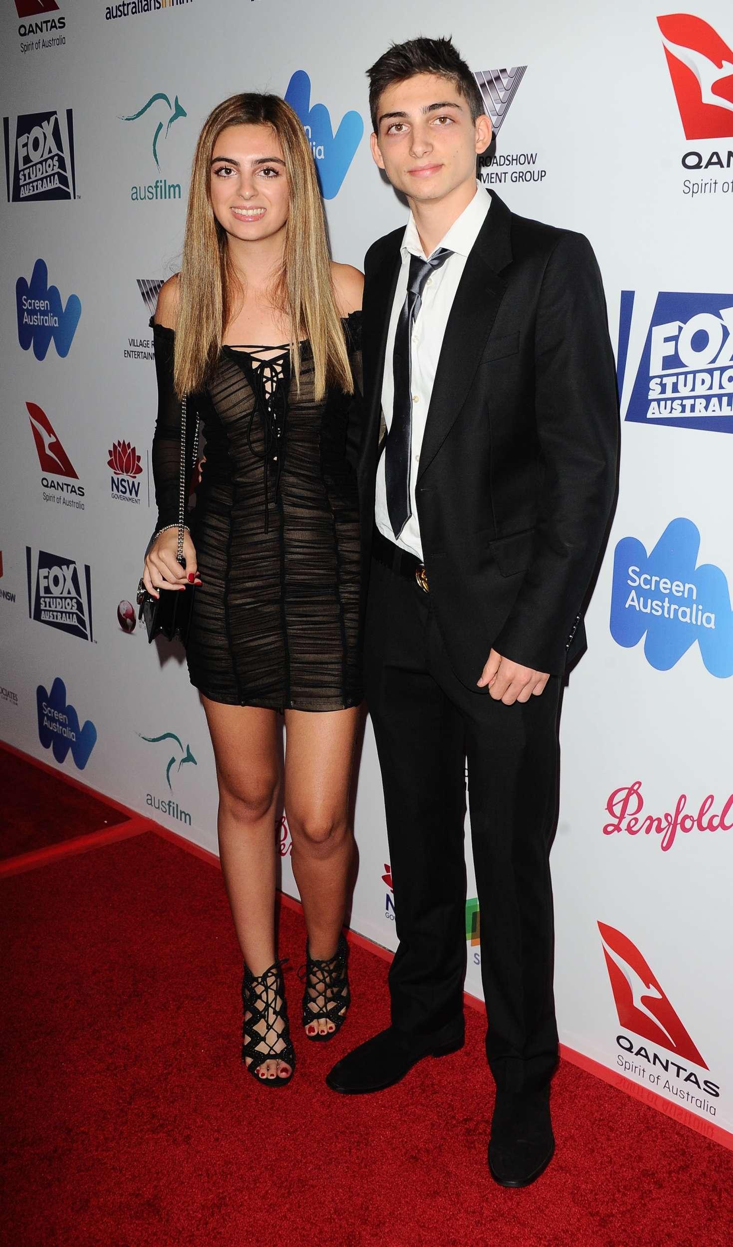 Dani zvulun australians in film awards benefit dinner in los angeles