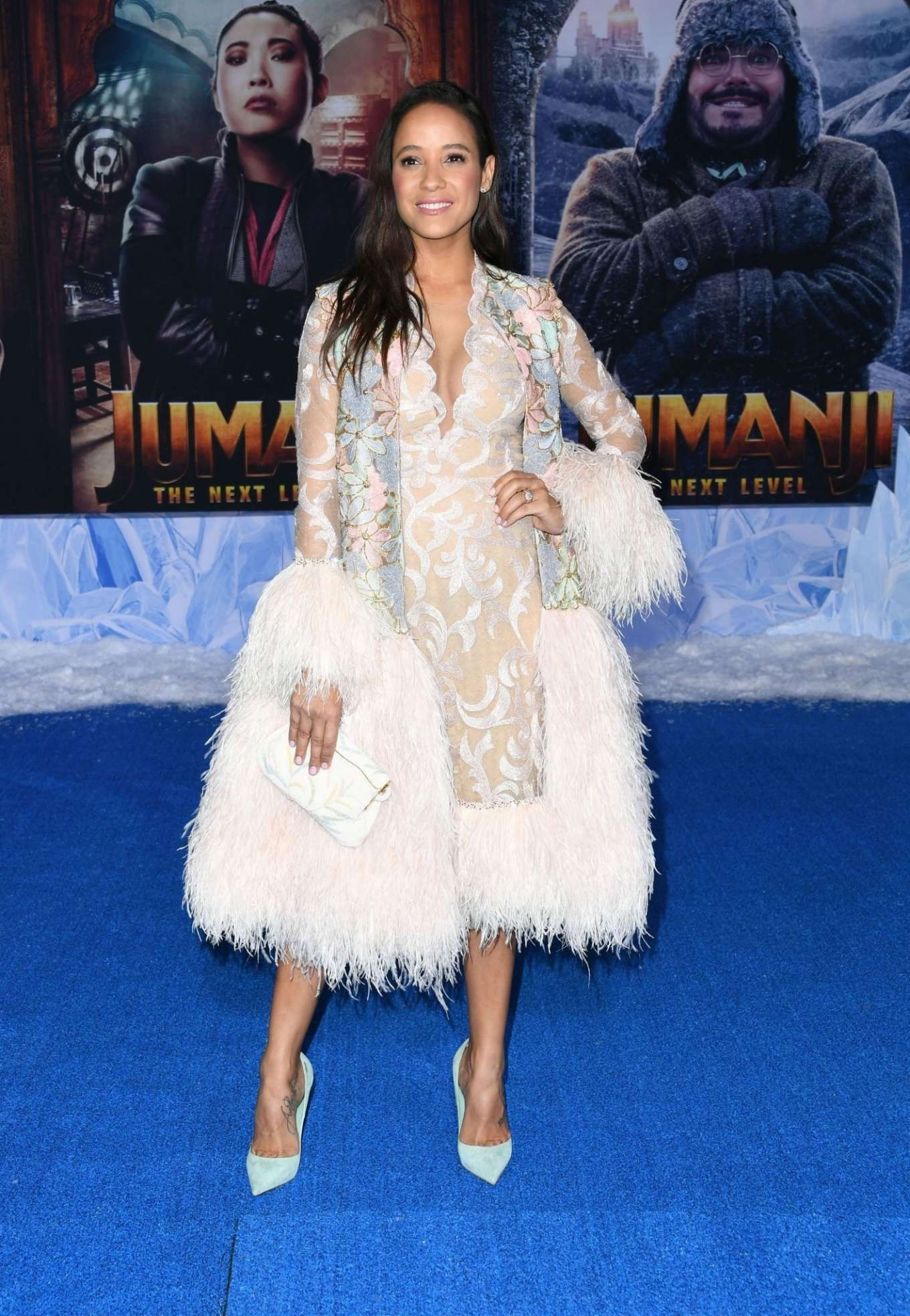 Dania Ramirez 2019 : Dania Ramirez – Jumanji: The Next Level premiere in Hollywood-03