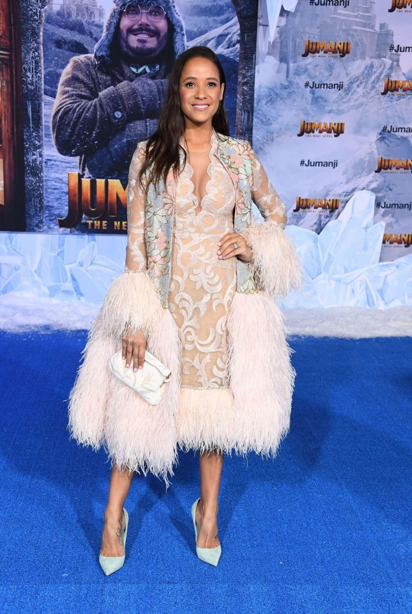 Dania Ramirez 2019 : Dania Ramirez – Jumanji: The Next Level premiere in Hollywood-06