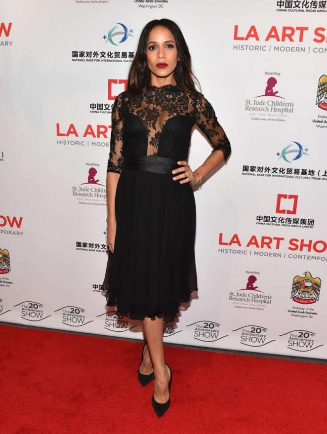 Dania Ramirez - LA Art Show 2015 Opening Night Premiere Party in LA