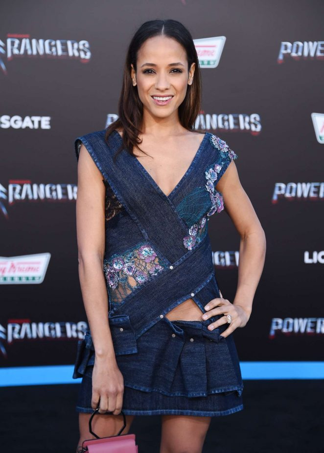 Dania Ramirez - 'Power Rangers' Premiere in Los Angeles