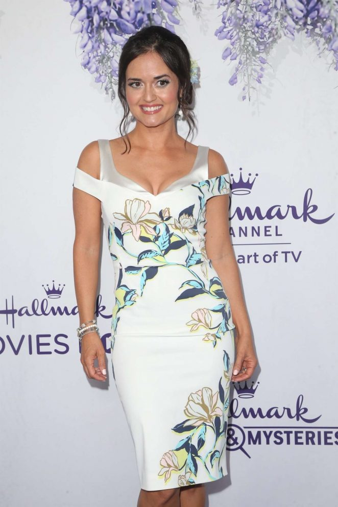 Danica McKellar - 2018 Hallmark's Evening Gala TCA Summer Press Tour in LA