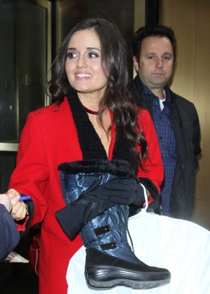Danica McKellar at 'The Today Show' in New York