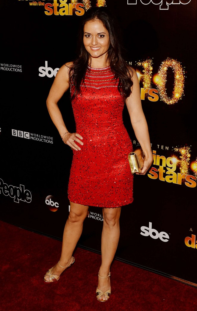 Danica McKellar – 'Dancing With The Stars' 10th Anniversary Party in West Hollywood