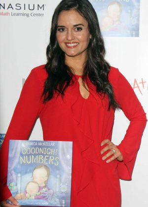 Danica McKellar - Goodnight Numbers Mamarazzi Book Launch in NY