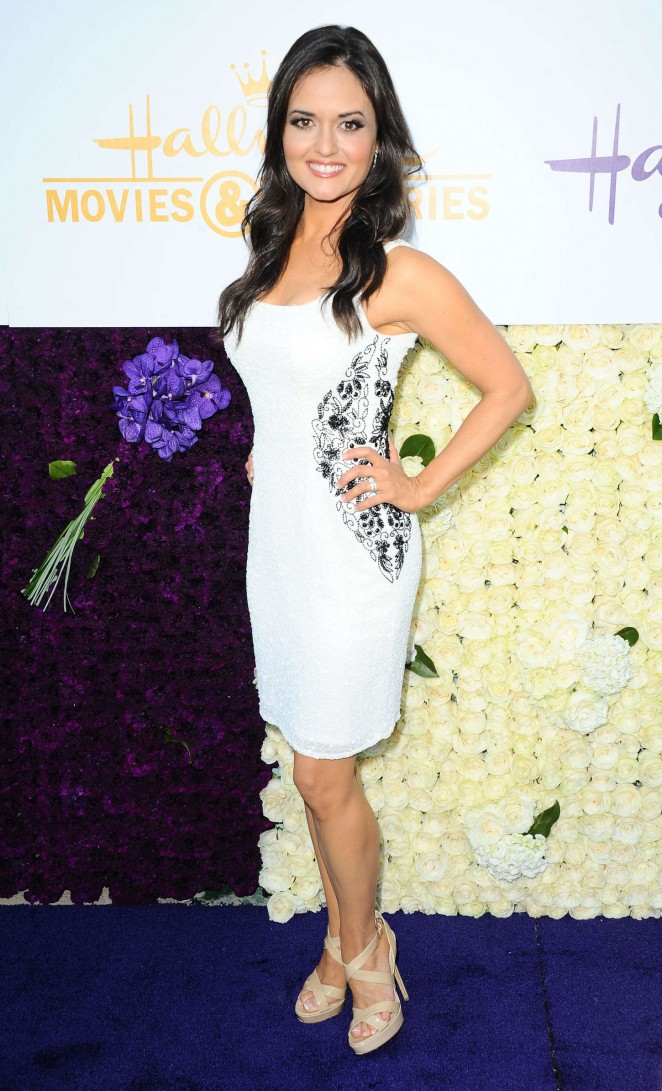 Danica McKellar - Hallmark Channel and Hallmark Movies and Mysteries 2015 Summer TCA Tour in Beverly Hills