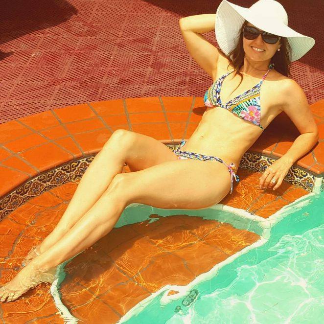 Danica McKellar in Bikini – Social Media