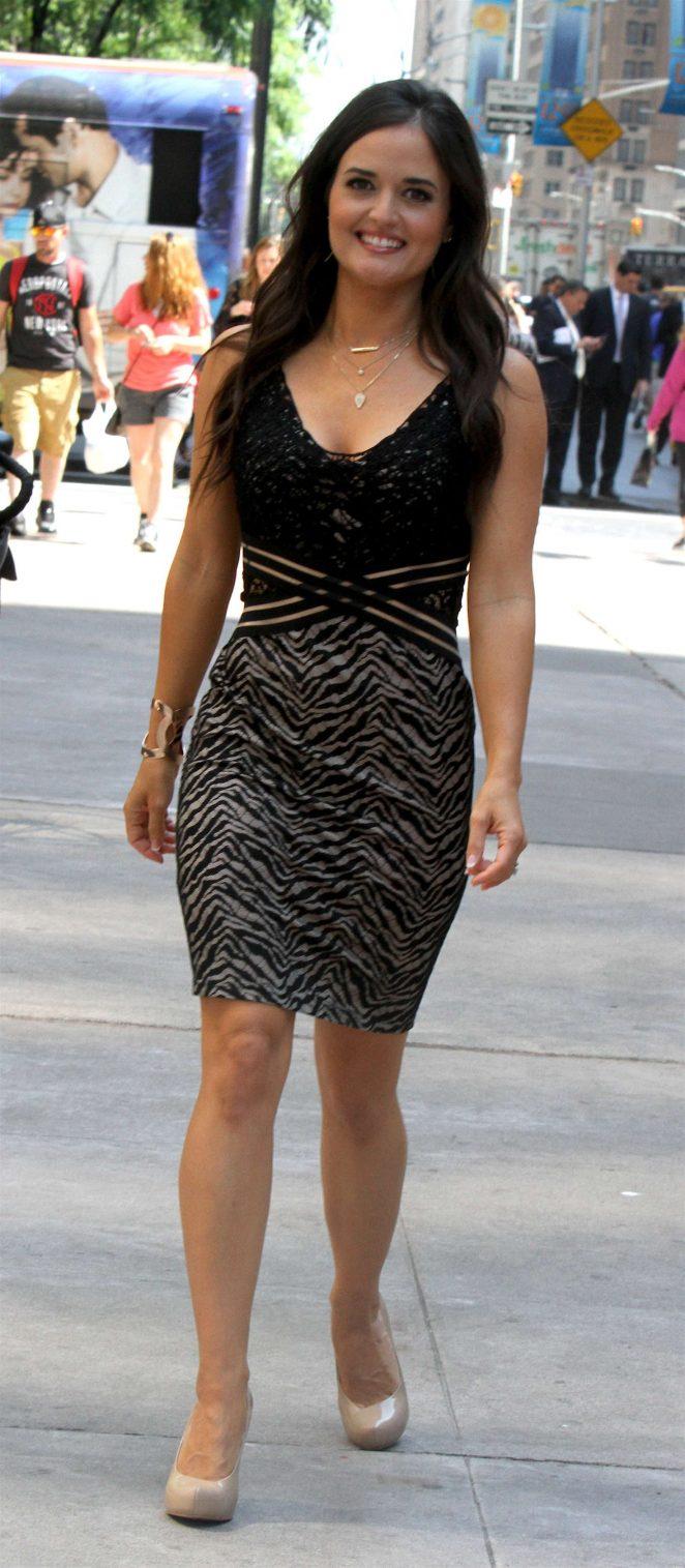 Danica McKellar in Mini Dress -16