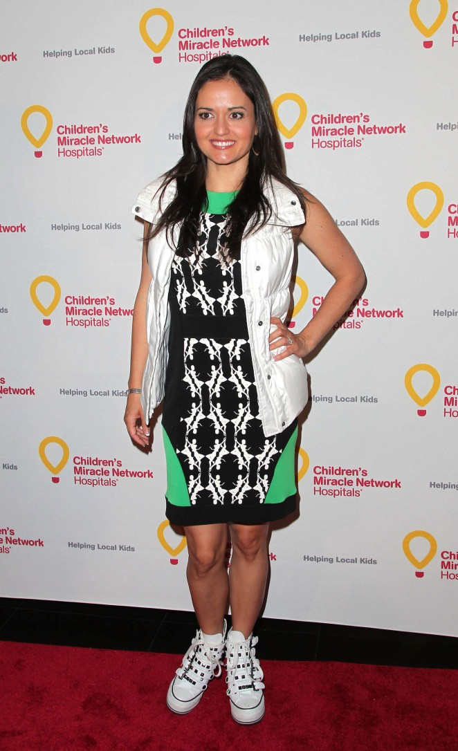 Danica McKellar - 'Put Your Money Where The Miracles Are' Campaign Launch in Hollywood