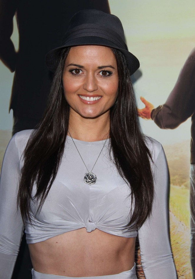 Danica McKellar - 'Where Hope Grows' Premiere in Hollywood