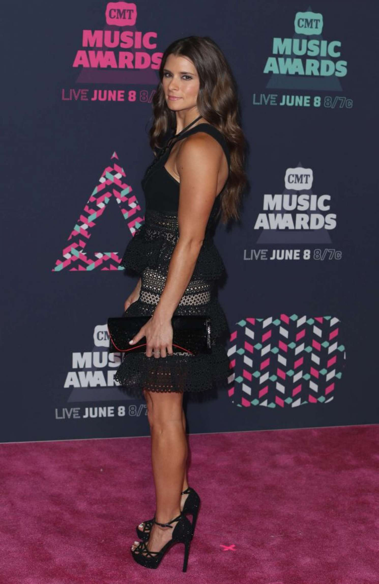 Back to FULL gallery Danica Patrick – 2016 CMT Music Awards