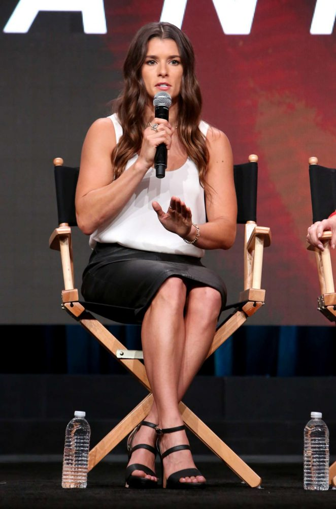 Danica Patrick - 'Danica' TV Show Panel at 2017 TCA Summer Press Tour in LA