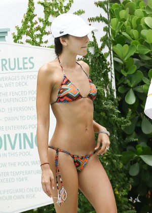 Daniela Botero in Bikini in Miami