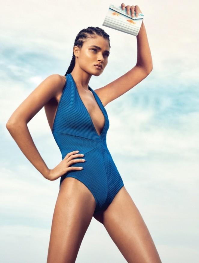 Daniela Braga - Harper's Bazaar Brazil Magazine (January 2016)