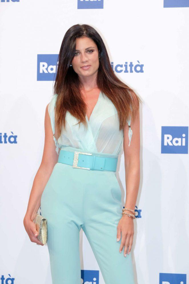 Daniela Ferolla - Rai Show Schedule Presentation in Rome