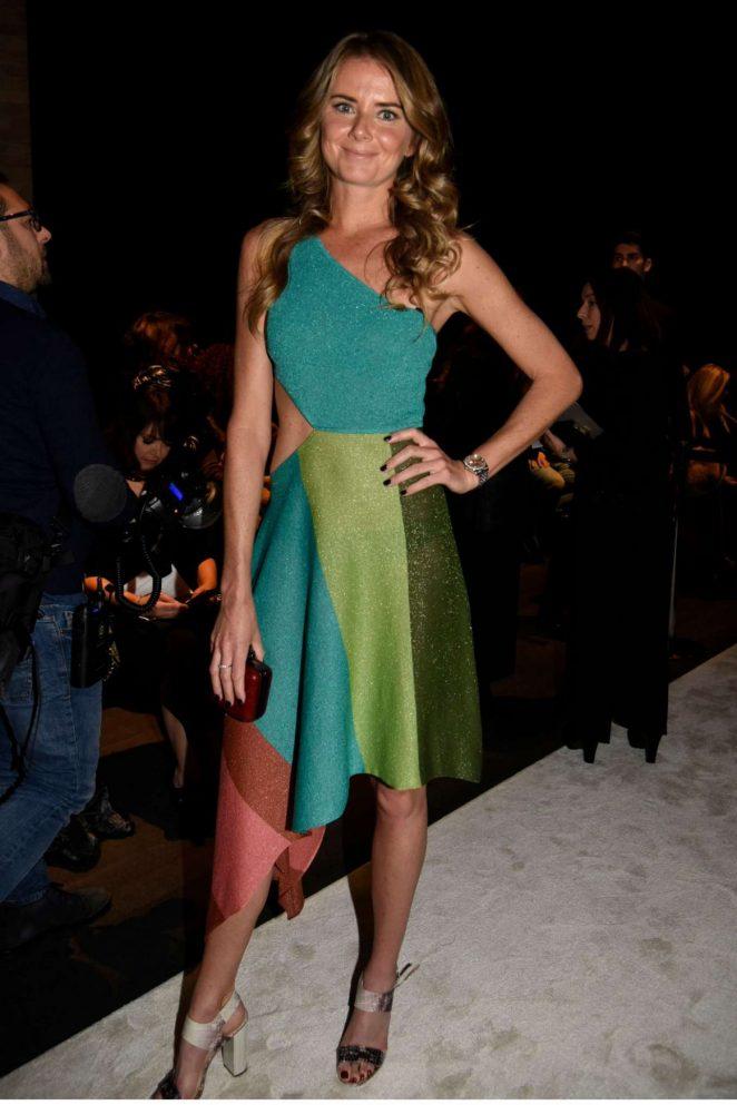 Daniela Hantuchova – Laura Biagiotti Fashion Show 2018 in Milan