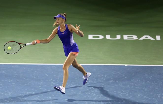 Daniela Hantuchova: WTA Dubai Duty Free Tennis Championship 2015 -01
