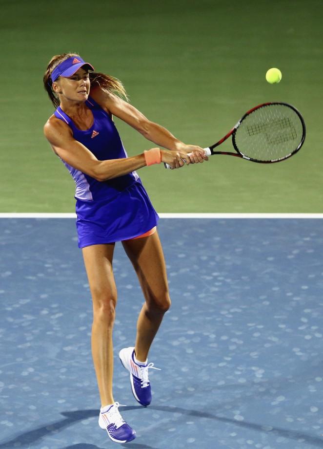 Daniela Hantuchova: WTA Dubai Duty Free Tennis Championship 2015 -02