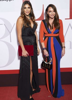 Daniela Ospina and Ana Antic - ELLE Magazine Party in Madrid