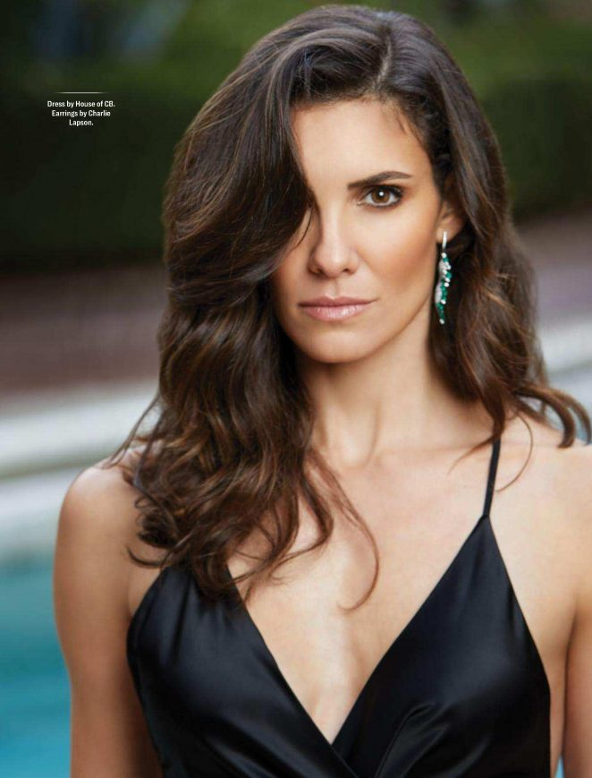 Daniela Ruah for CBS Watch! Magazine 2018 adds