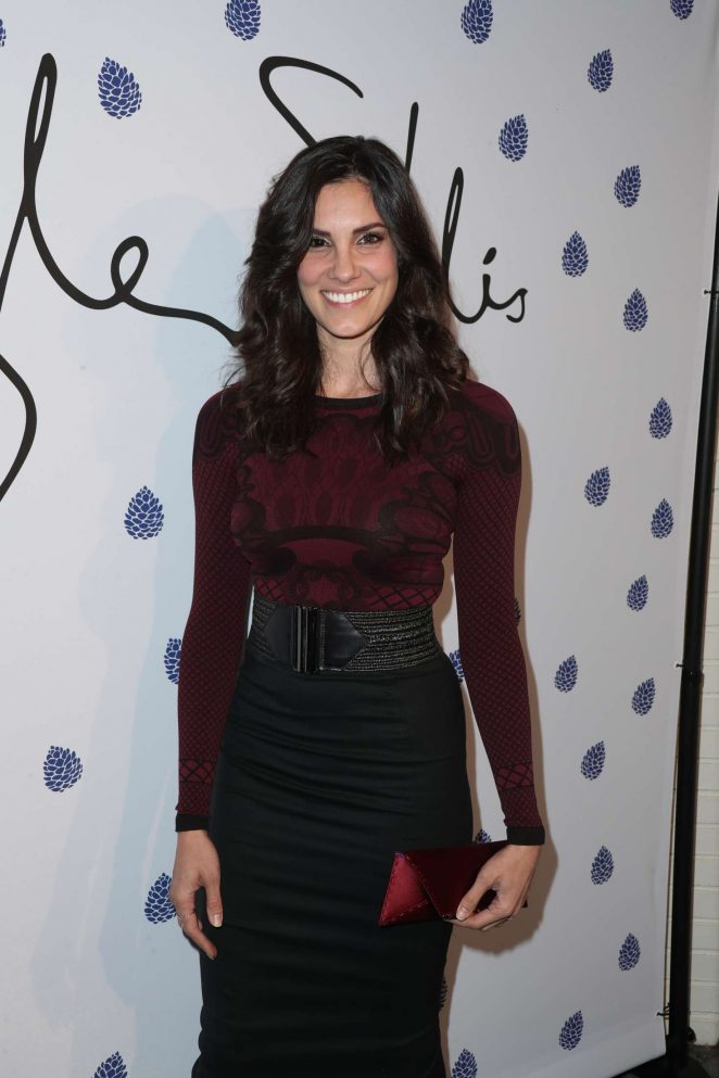 Daniela Ruah - Tyler Ellis Celebrates 5th Anniversary in West Hollywood