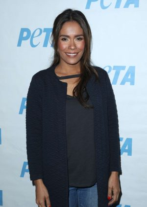 Daniella Alonso - Launch Opening Night of PETA's 'Naked Ambition' Exhibit in LA