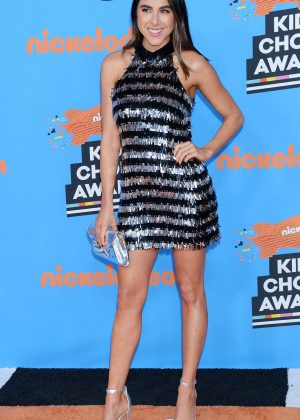 Daniella Monet - 2018 Nickelodeon Kids' Choice Awards in Los Angeles