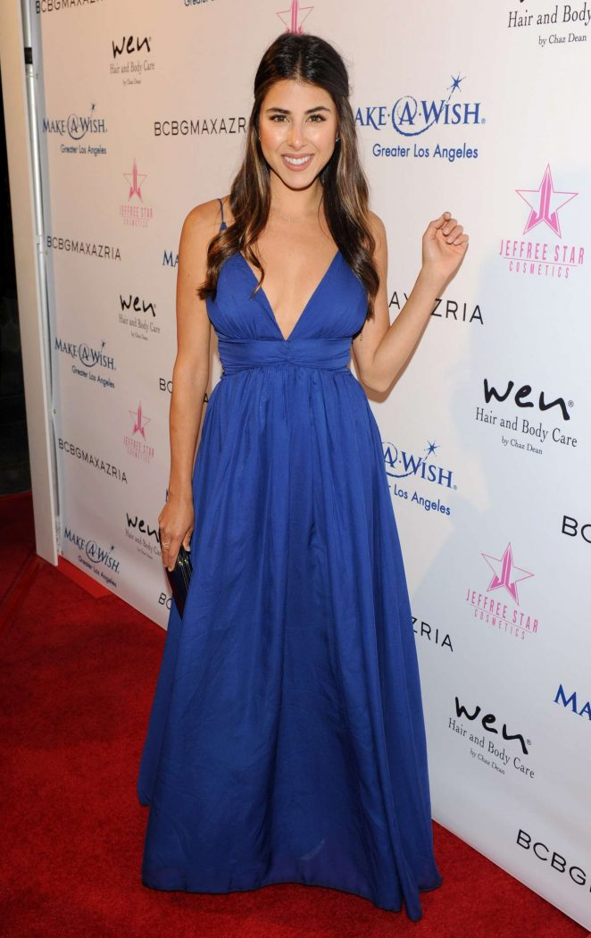 Daniella Monet - BCBG Make-A-Wish Fashion Show in Los Angeles