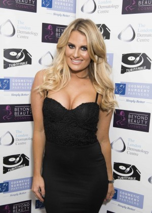 Danielle Armstrong - Misfits Management and Bold Management Christmas Party in London
