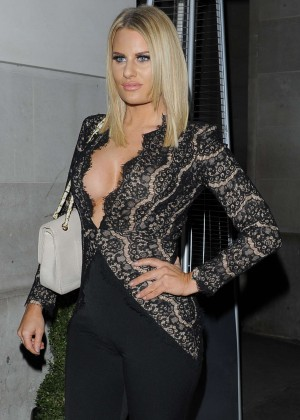 Danielle Armstrong - The Sun: Bizarre Party 2015 in London