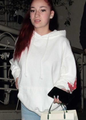 Danielle Bregoli at Madeo restaurant in West Hollywood