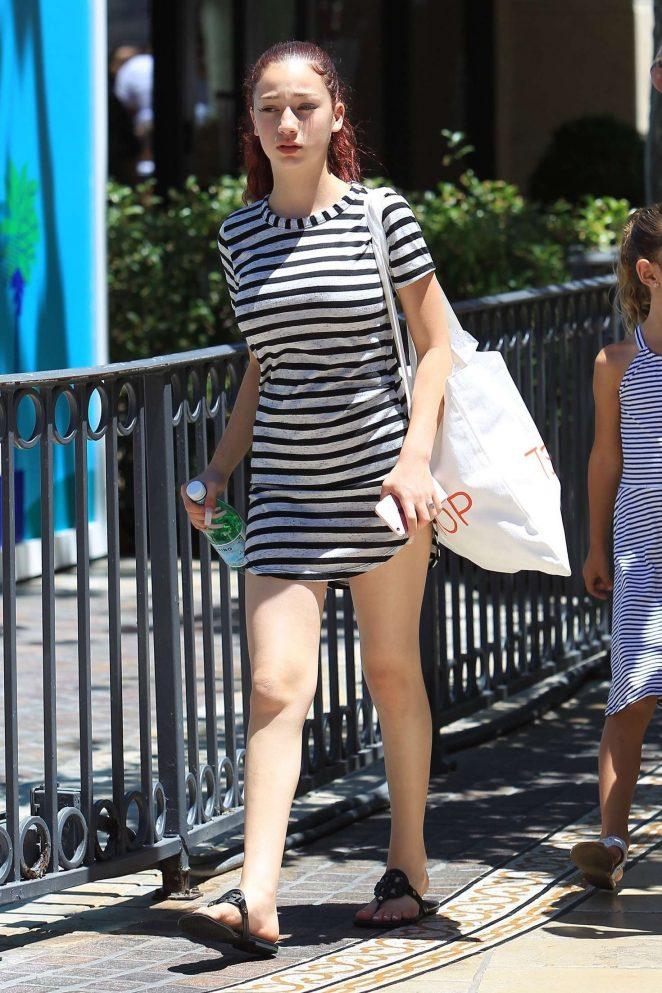 Danielle Bregoli 2017 : Danielle Bregoli: Shopping at the Grove -03