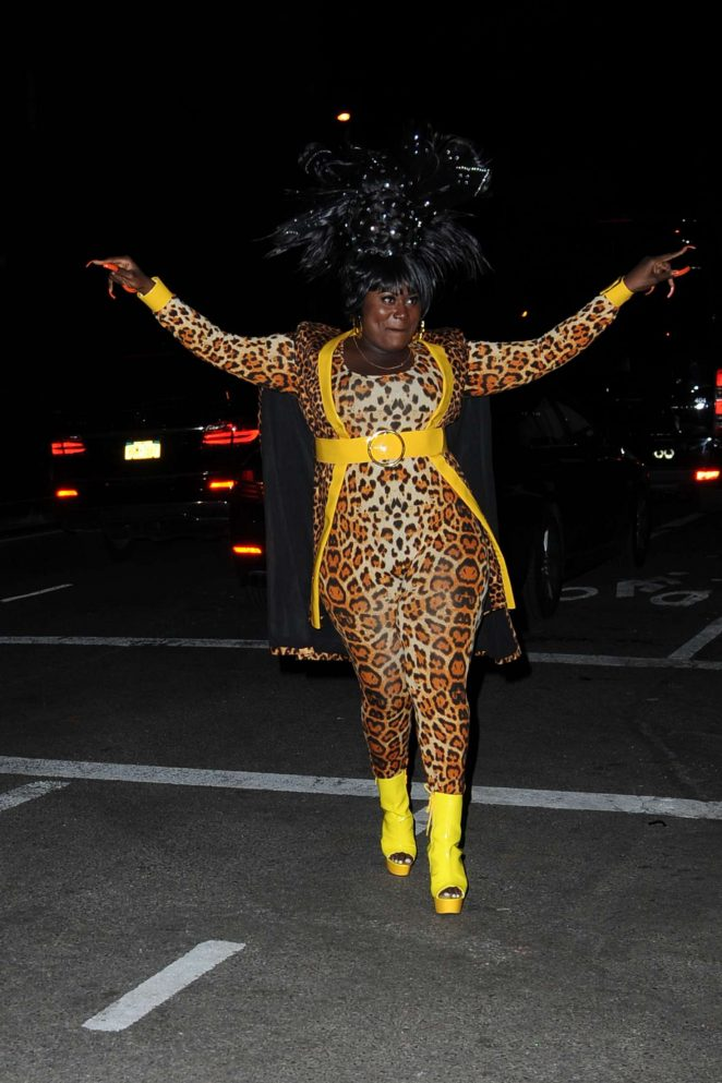 Danielle Brooks - Heidi Klum 17th Annual Halloween Party in NYC
