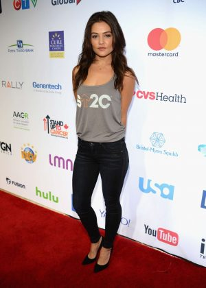 Danielle Campbell - 5th Biennial Stand Up To Cancer in Los Angeles