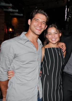 Danielle Campbell - Cameron Monaghan's Birthday Dinner in LA