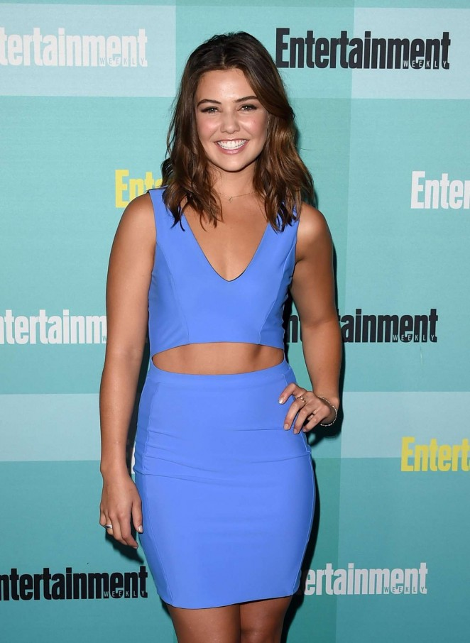 Danielle Campbell - Entertainment Weekly Party at Comic-Con in San Diego