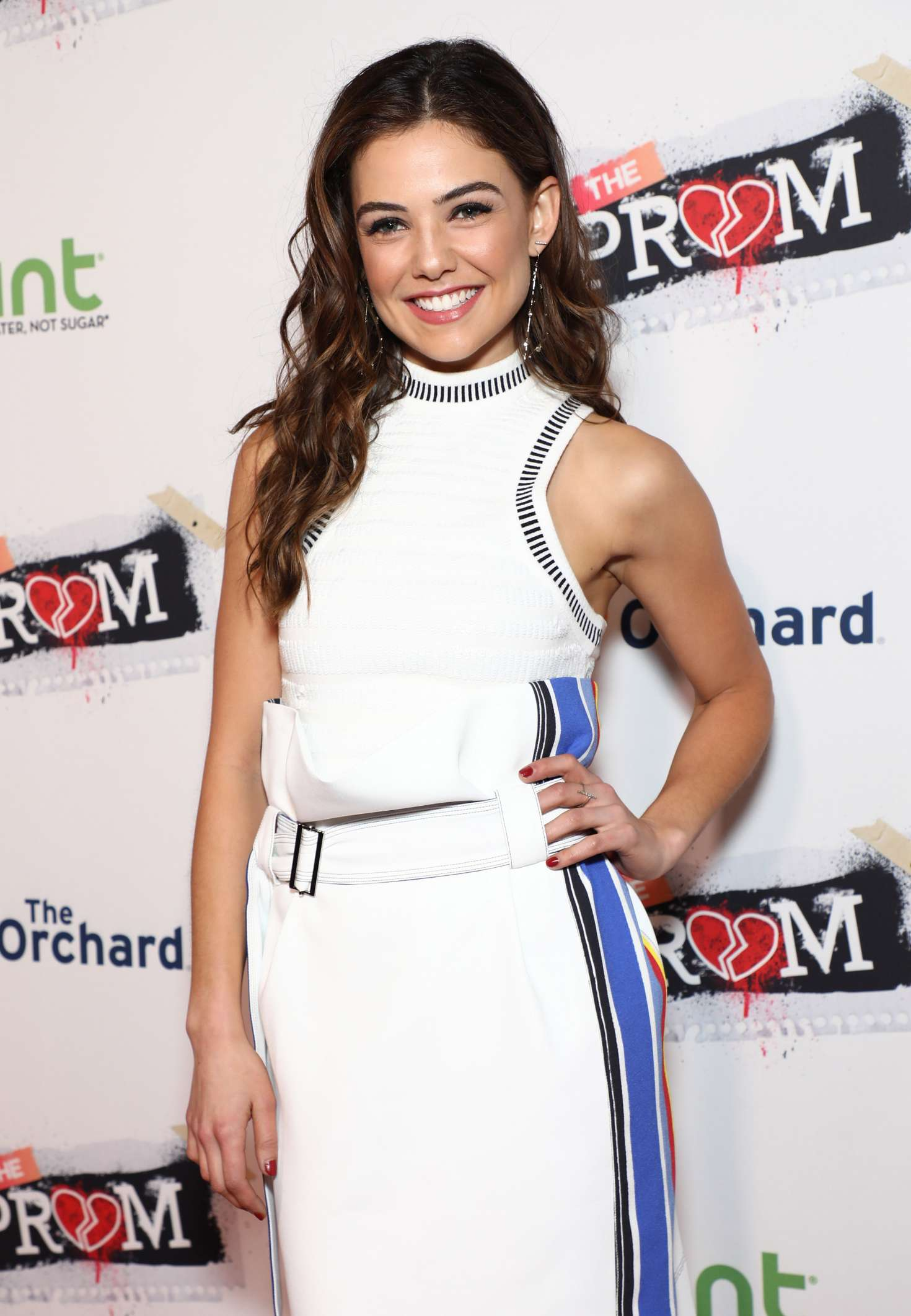 danielle campbell famp the prom premiere in hollywood