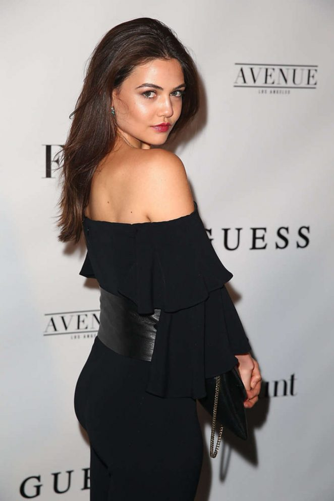 Danielle Campbell - Flaunt And Guess Celebrate The Alternative Facts Issue Event in LA