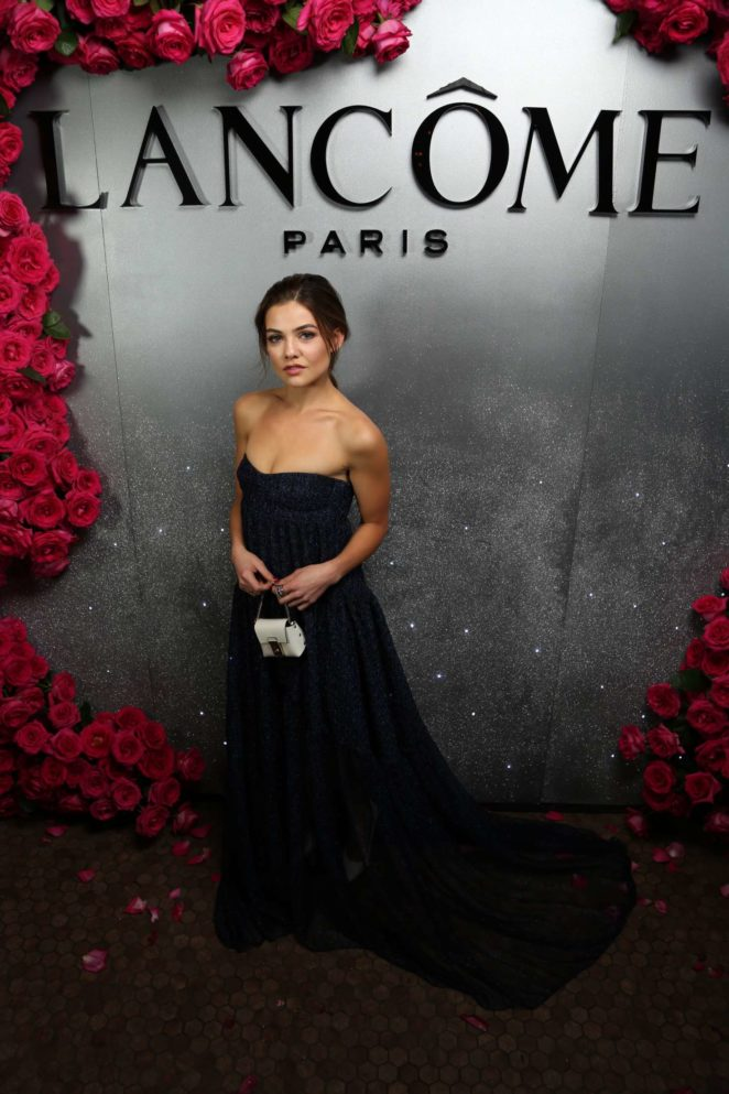 Danielle Campbell - Lancome x Vogue Holiday Party Photo Booth in LA