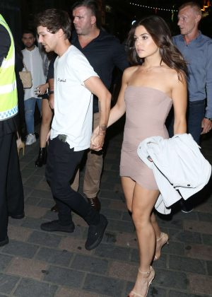 Danielle Campbell - Leaving Cirque le Soir in London