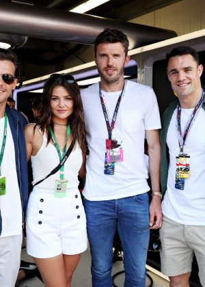 Danielle Campbell - Monaco Formula One Grand Prix in Monaco