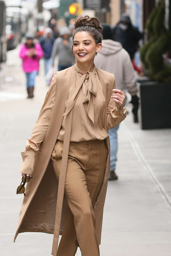 Danielle Campbell - Out in Manhattan