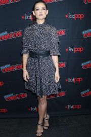 Danielle Campbell - 'Tell Me a Story' Panel - New York Comic Con 2019